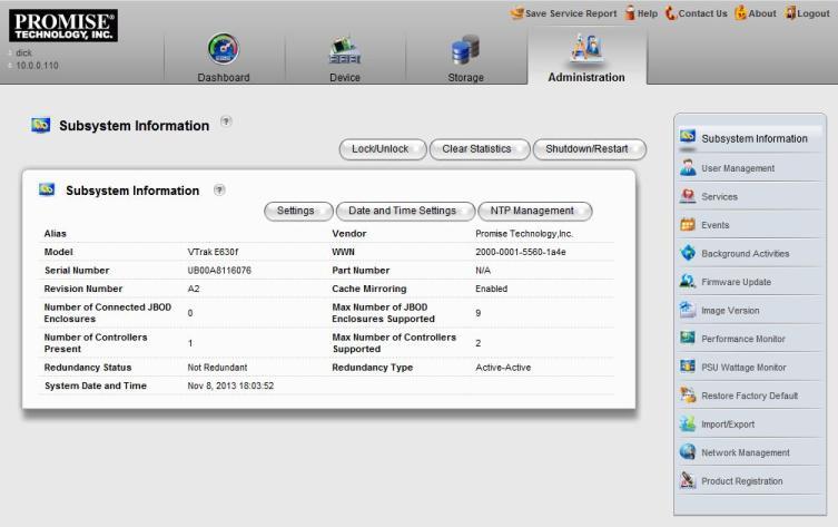 VTrak Ex30 LDAP User Management – Active Directory