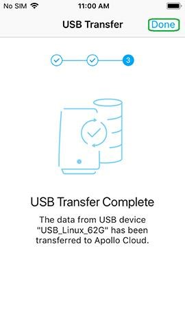 How to Execute a USB Transfer (iOS and Android)